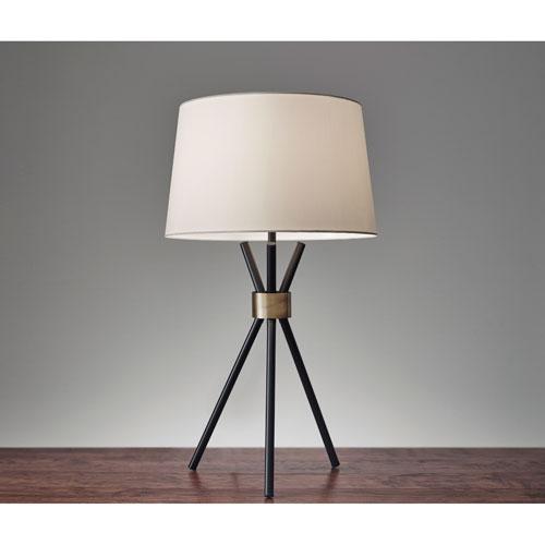 Benson Black One-Light Table Lamp