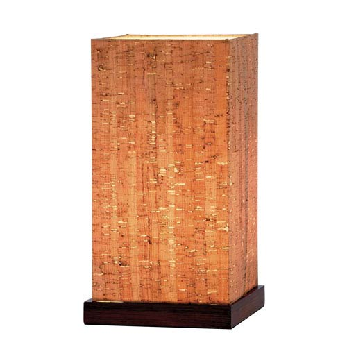 Adesso Sedona Walnut Table Lantern