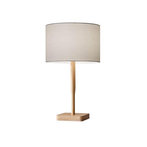 Natural Wood Base Table Lamp Bellacor