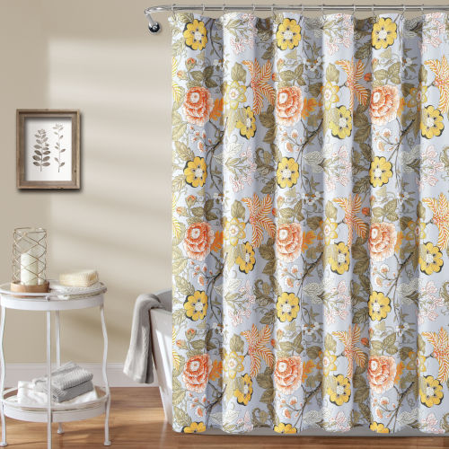 Sydney Multicolor 72 x 72 In. Single Shower Curtain