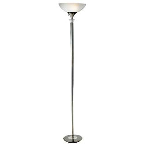 Metropolis Black Nickel Floor Lamp