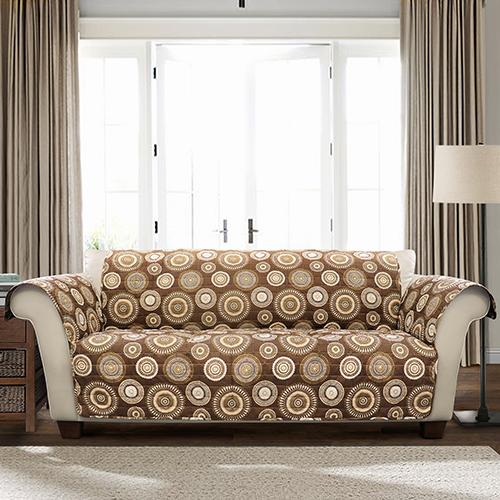Cleo Brown Single Sofa Furniture Protector