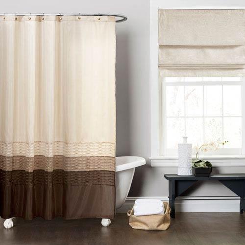 Attirant Mia Multi Color Shower Curtain