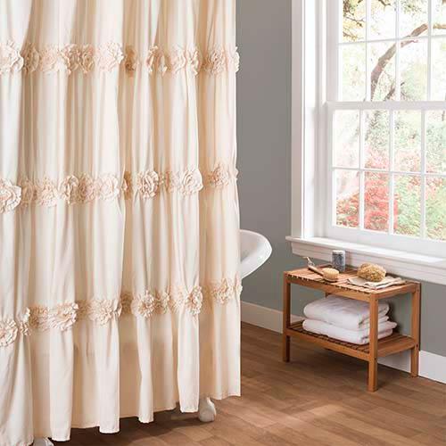 Darla Ivory Shower Curtain