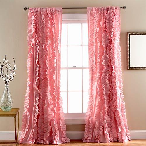 Belle Pink 84 x 54-Inch Window Panel