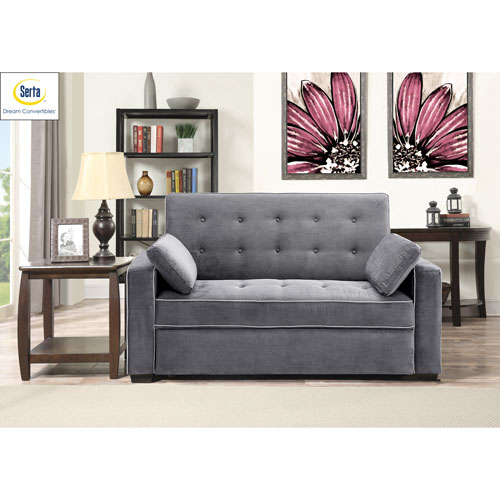 Augustus Convertible Full Sofa Bed