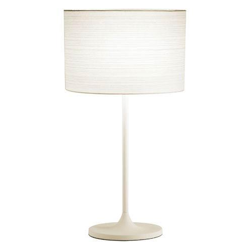Adesso Oslo White Table Lamp
