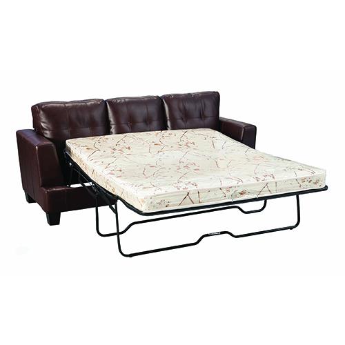 Dark Brown Sleeper Sofa