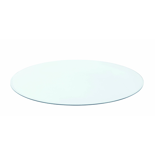 Transparent Round Glass Dining Table Top