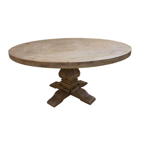 Florence Pine Round Dining Table