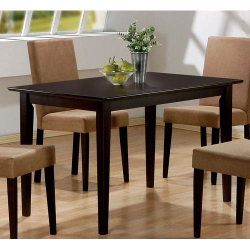 Coaster Furniture Rectangular Casual Dining Leg Table