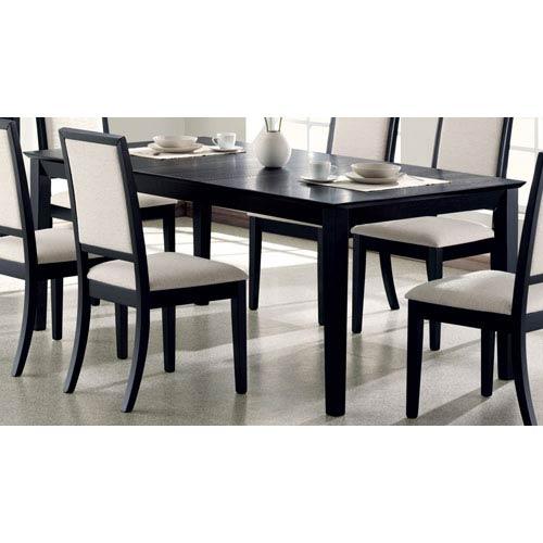e7ec851e5d88a Coaster Furniture Lexton Rectangular Dining Table With 18 Inch Leaf ...