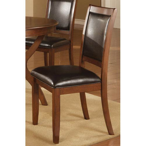Nelms Side Chair with Upholstered Seat and Back, Set of 2