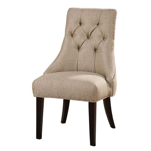 Beige Accent Chair