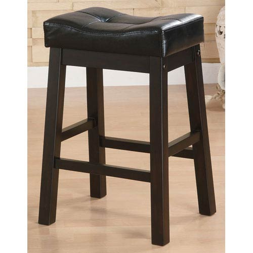 Sofie 24-Inch Upholstered Seat Bar Stool- Set of 2
