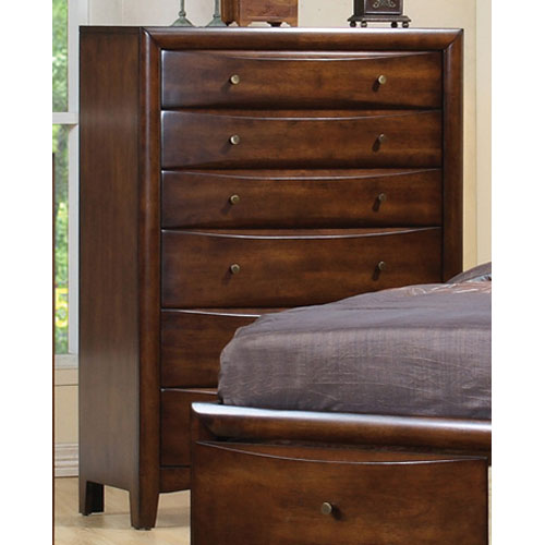 Coaster Furniture Hillary and Scottsdale Contemporary Six Drawer Chest