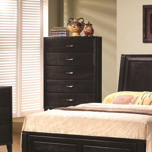 Nacey Five Drawer Vertical Bedroom Chest
