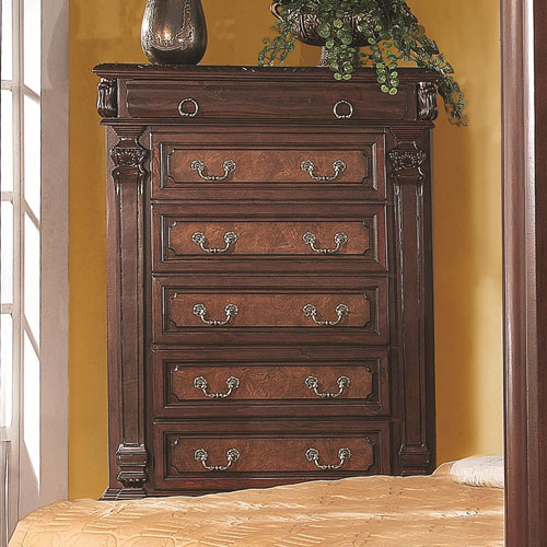 Grand Prado Tall Chest with Five Drawers