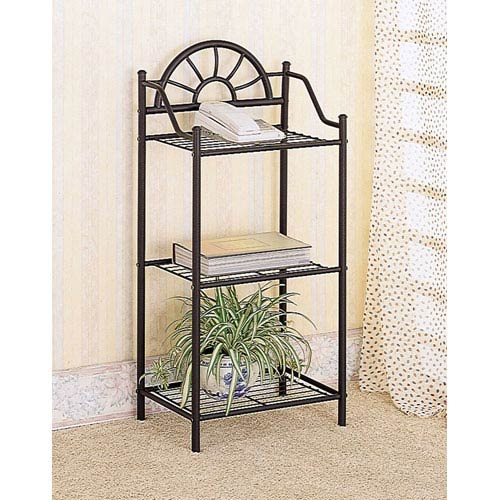 Sunburst Three Shelf Telephone Stand