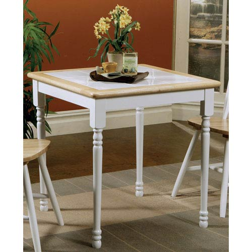 Damen Square Tile Top Casual Dining Table