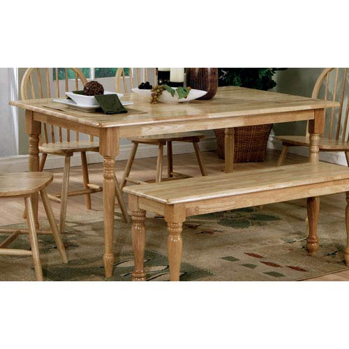 Coaster Furniture Damen Rectangle Leg Dining Table