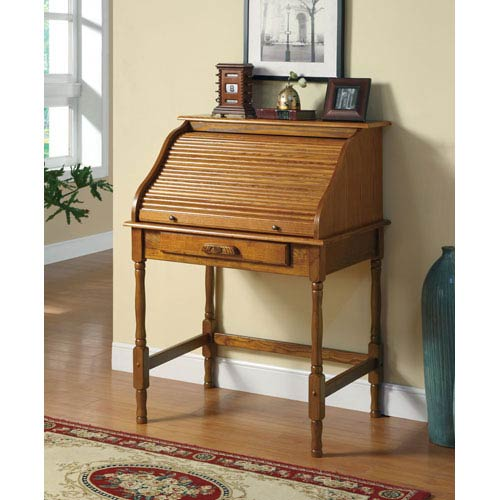 Coaster Furniture Palmetto Small Roll Top Secretary Desk