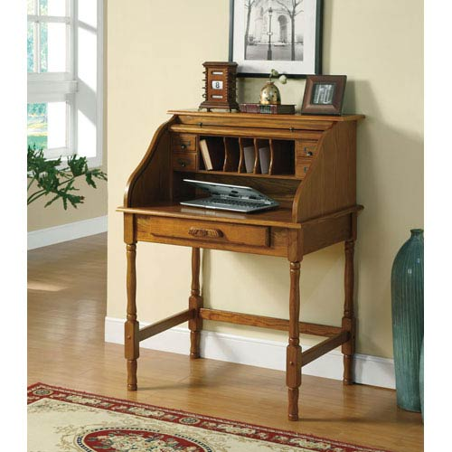 Coaster Furniture Palmetto Small Roll Top Secretary Desk 20385301n 1