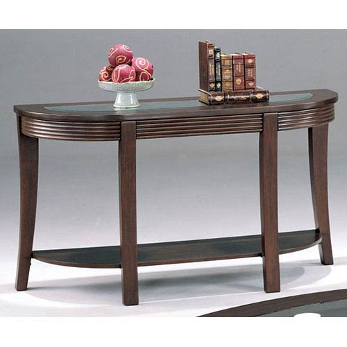 Coaster Furniture Simpson Sofa Table with Glass Top