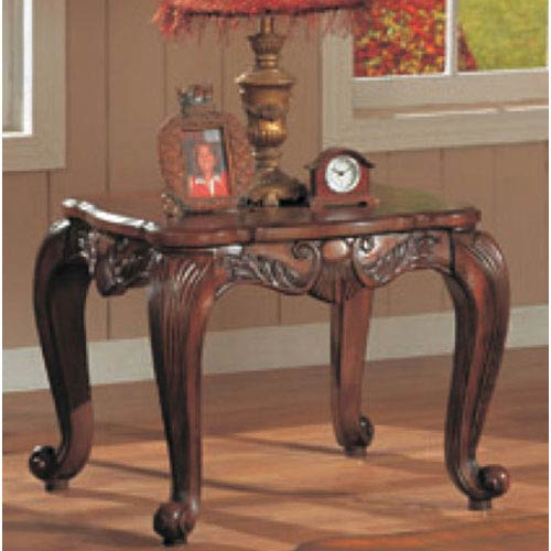 Coaster Furniture Venice Traditional Square End Table