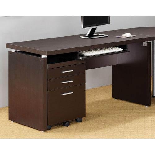 Cappuccino Contemporary Writing Desk