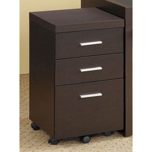 Coaster Furniture Papineau File Cabinet with Three Drawers
