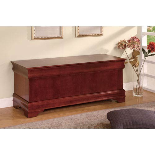 Cherry Louis Philippe Style Cedar Chest