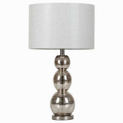 Metallic Finish Table Lamp
