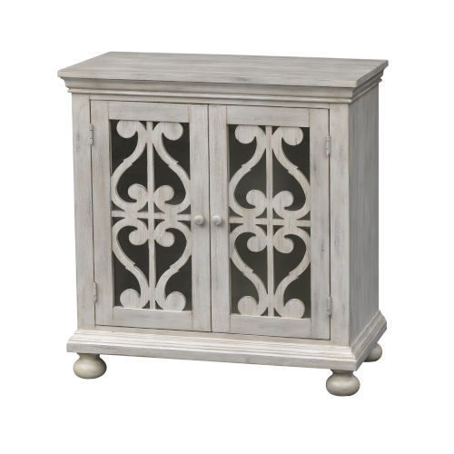 Orchard Park Ivory Two-Door Cabinet