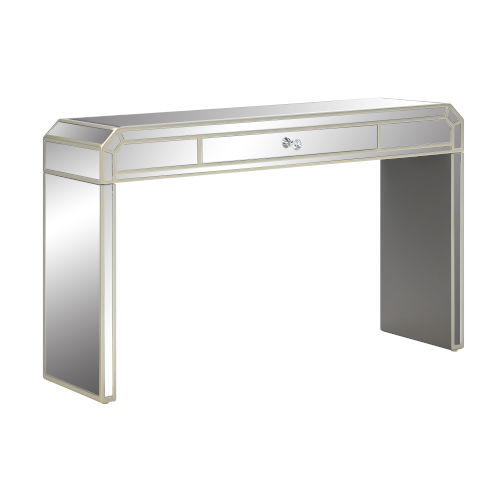 Champagne 48-Inch Console Table