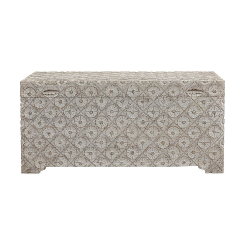 Aster White Wash 39-Inch Trunk