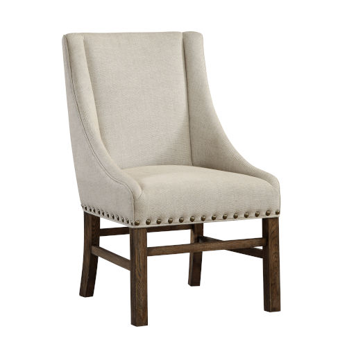 Medium Brown Chatter Accent Chair