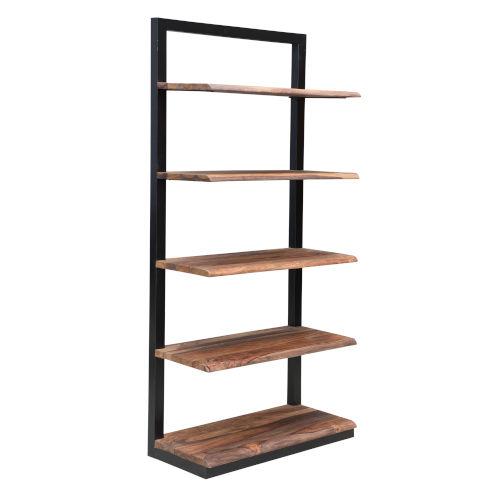 Brownstone II Nut Brown Bookcase