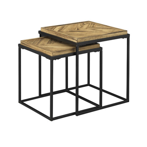 Boardwalk Brown Accent Table