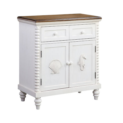 Ocean Treasures White Cabinet
