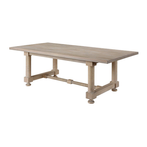 Barrister Distressed Dining Table