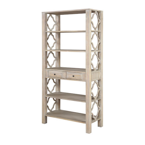 Barrister Distressed Bookcase