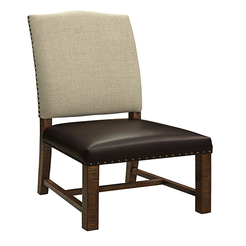Coast to Coast Imports  Brown Two Tone Dining Chair Set of 2