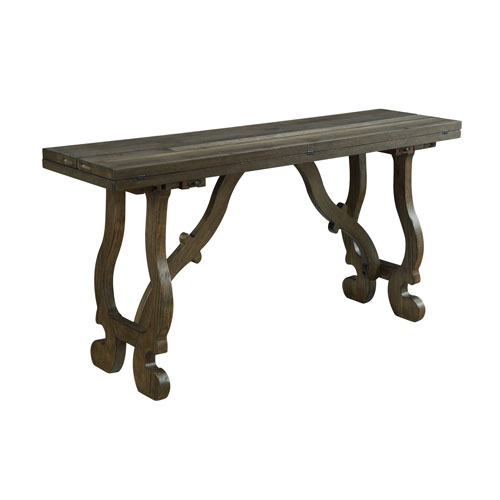 Orchard Park Fold Out Console in Brown