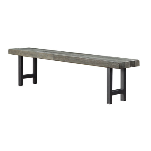 Heartland Dining Bench in Gray
