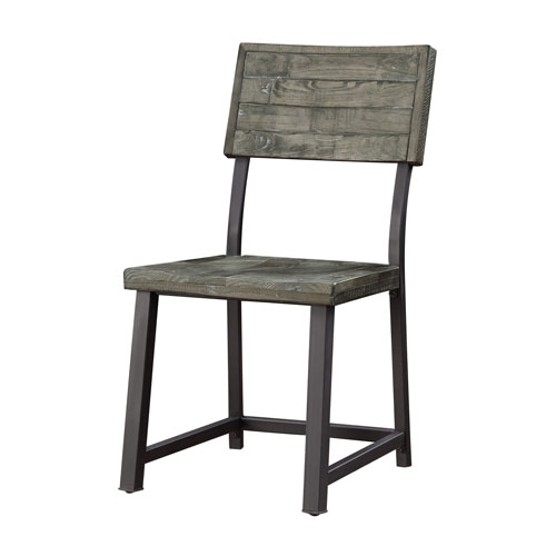 Set of 2 Heartland Dining Chairs in Gray