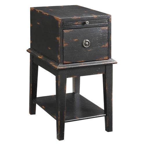 Bayport Black Cabinet