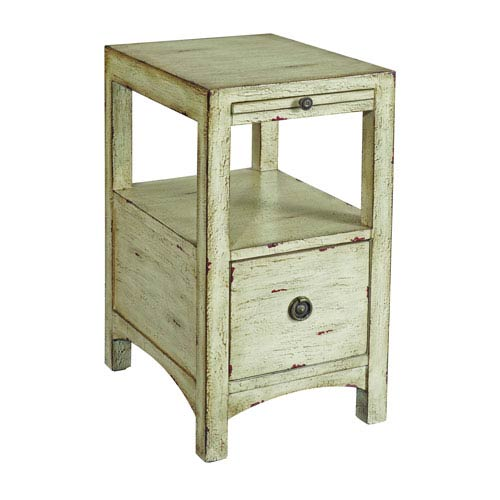 Coast to Coast Imports  Textured Sand Chairside Table