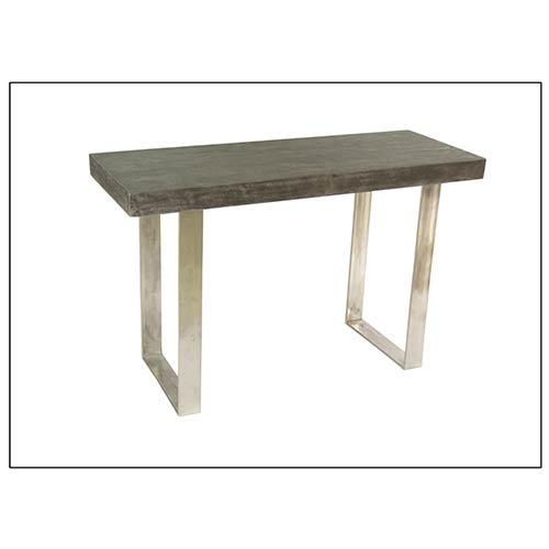 Coast to Coast Imports  Concrete Grey Sofa Console Table