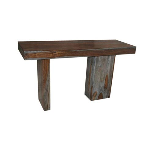 Coast to Coast Imports  Sheesham Wash Brown Console Table